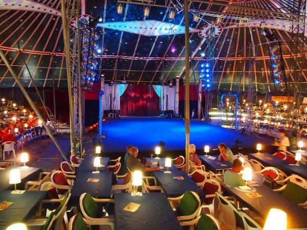 Circus Restaurant, mobile Location